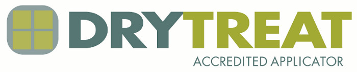 Drytrea logo accredited